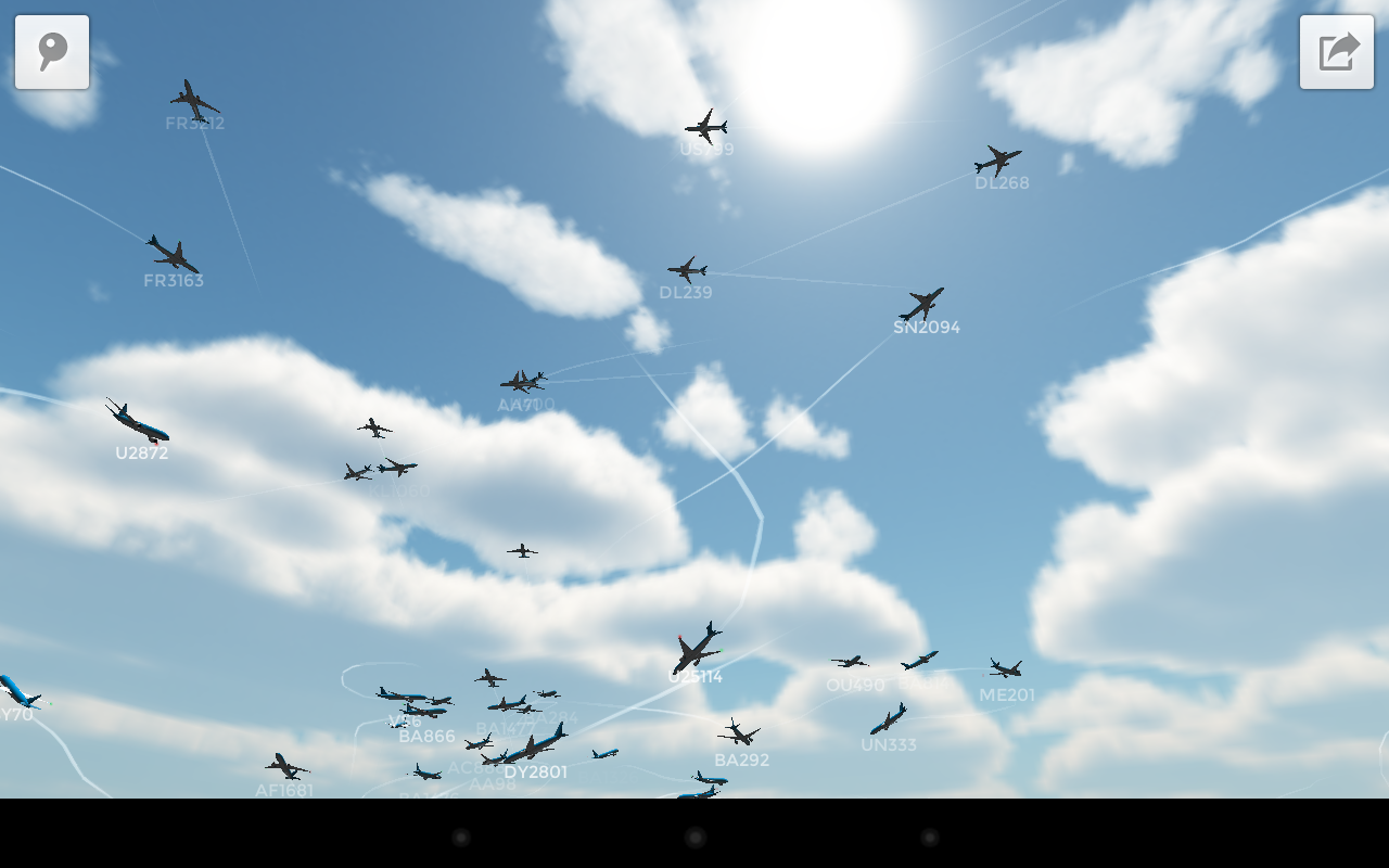 Plane Finder 3D- screenshot