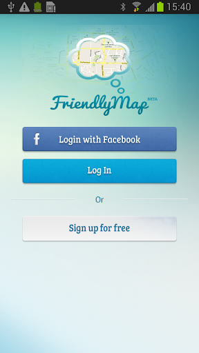 FriendlyMap - real time search