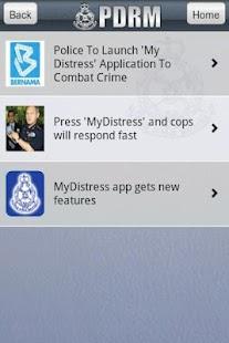 MyDistress- screenshot thumbnail