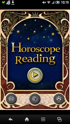 Horoscope Readingホロスコープで毎日占う運勢
