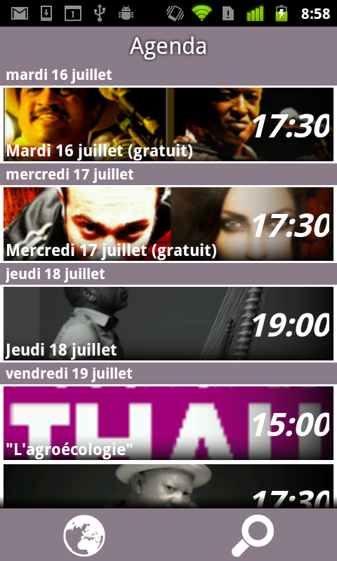 Festival de Thau 2013 - screenshot