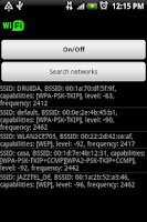 Screenshot of Wifi Droid Profesional