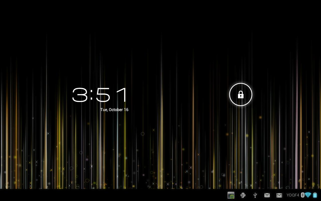 Fading Lines LWP Full - screenshot