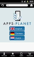 Screenshot of Apps-Planet