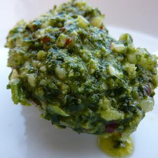 Coriander Pesto.