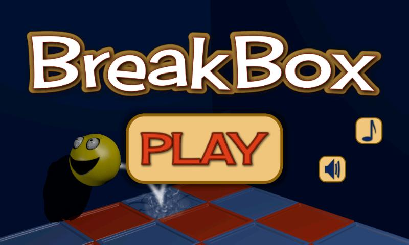 BreakBox free 3D arcade game - screenshot