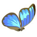 mariposa volar icon