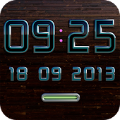 CALAIDEON Digital Clock Widget