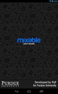 Mixable at Purdue- screenshot thumbnail