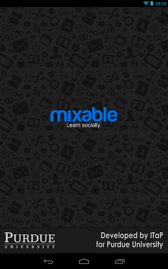 Mixable at Purdue- screenshot
