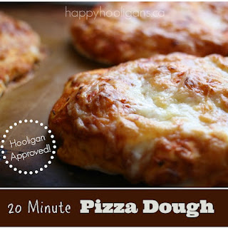 Quick and Easy Pizza Dough – Ready in 20 Minutes!