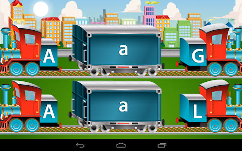 Kids ABC Letter Trains- screenshot thumbnail