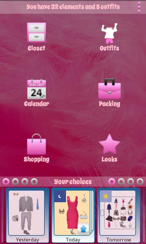 Personal Closet Lite - screenshot