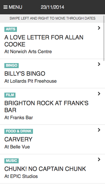 Outline Listings Norwich- screenshot
