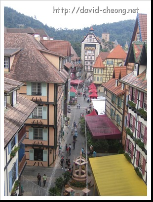 COLMAR TROPICALE view from the tower