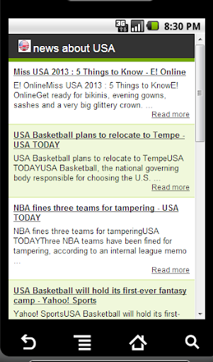 news about USA