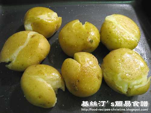 焗薯 Baked Potatoes