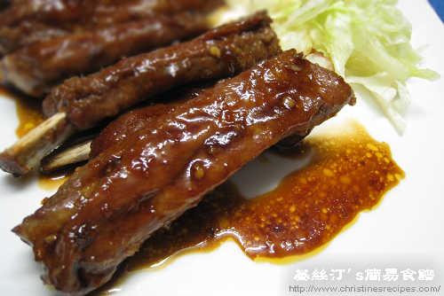 辣汁燒排骨 BBQ Ribs in Sweet Chili Sauce02