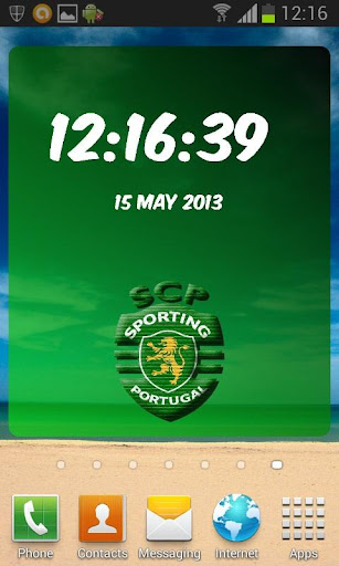 Sporting Portugal Clock