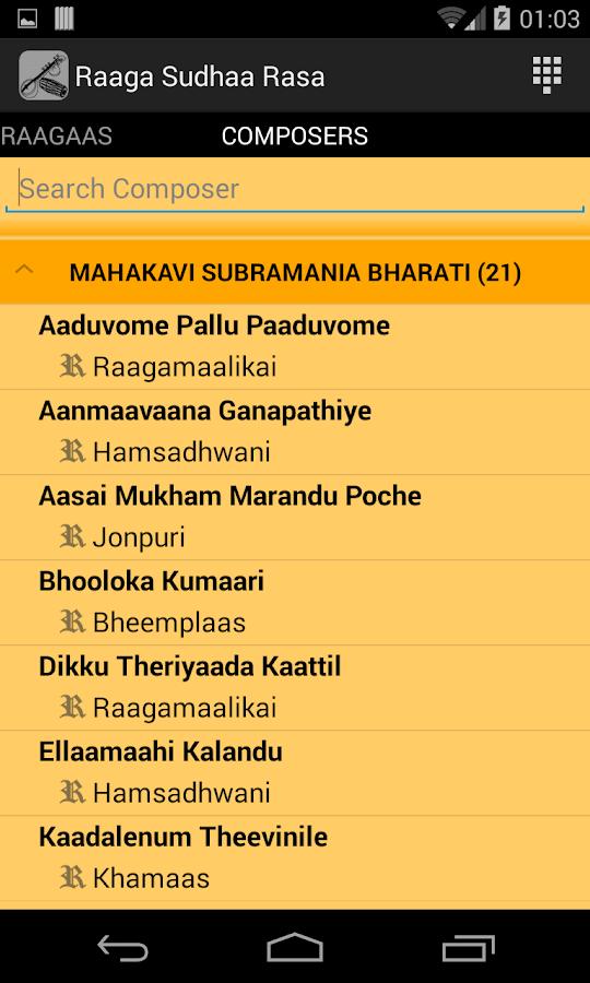 Raaga Sudhaarasa - Android Apps on Google Play