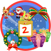 Christmas StickerWidget Second