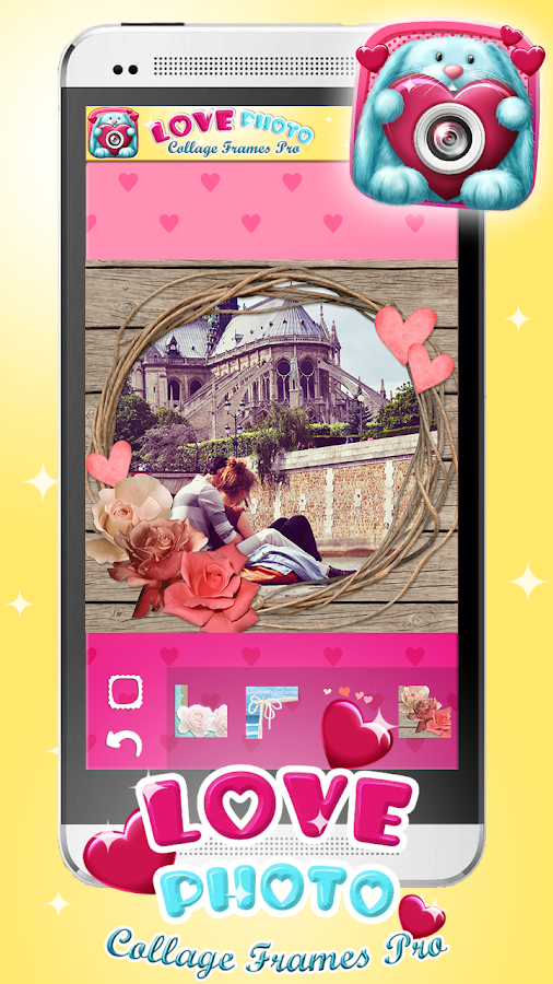 love photo collage frames pro android apps on google play. Black Bedroom Furniture Sets. Home Design Ideas