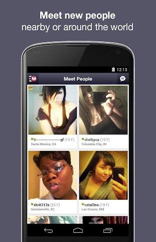 android Moco - Chat,  Meet People Screenshot 3