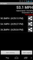 Screenshot of RCSpeedo