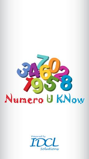 Numero U Know : Learn 1 to 100