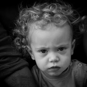 by Jasminka Nadaskic Djordjevic - Babies & Children Child Portraits ( , black and white, b&w, child, portrait )