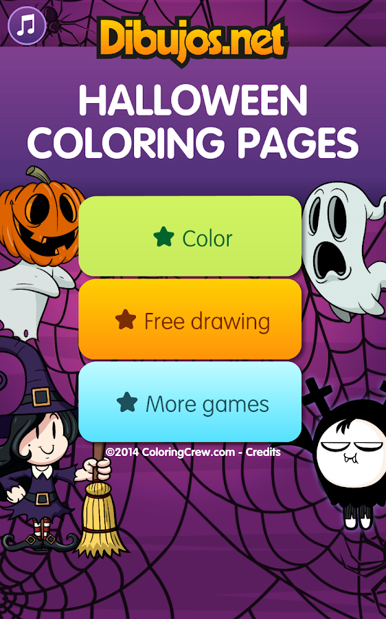 Halloween Coloring Pages- screenshot