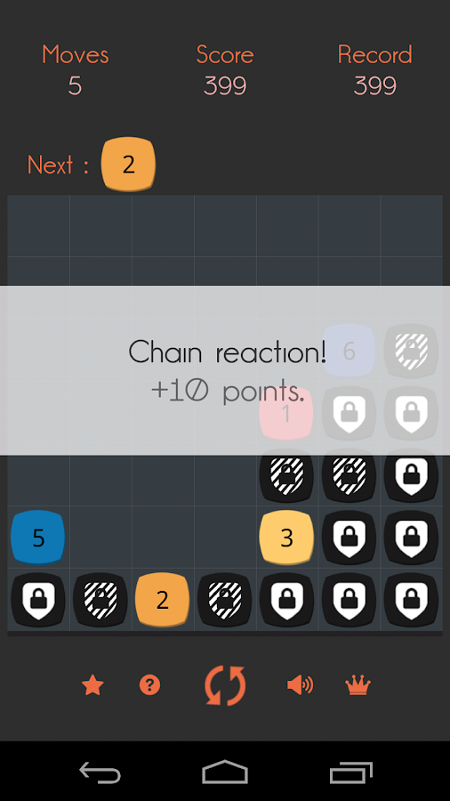 Eptatron: a math puzzle game- screenshot