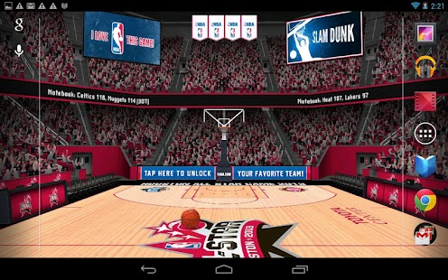 NBA 2012 3D Live Wallpaper - screenshot thumbnail