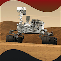 Curiosity on Mars logo