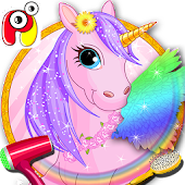 Pony Care - Pet Farm Dressup
