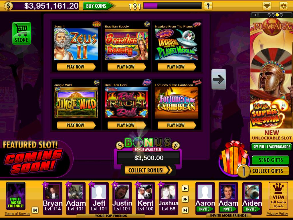 jackpot party casino slots free