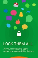 Screenshot of Message Locker – SMS Lock