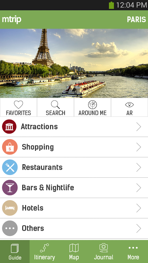 mTrip Travel Guides - screenshot