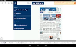 Screenshot of Südhessen Morgen