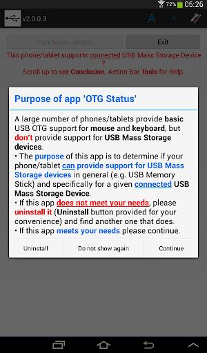 OTG Status