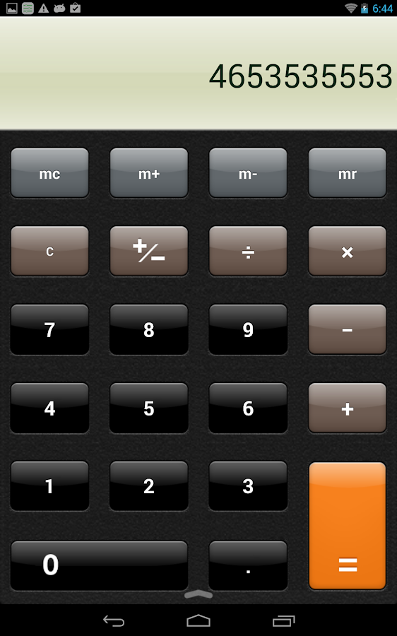 Hi Calculator - screenshot