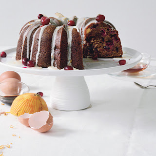 Spiced Cranberry Bundt Cake.