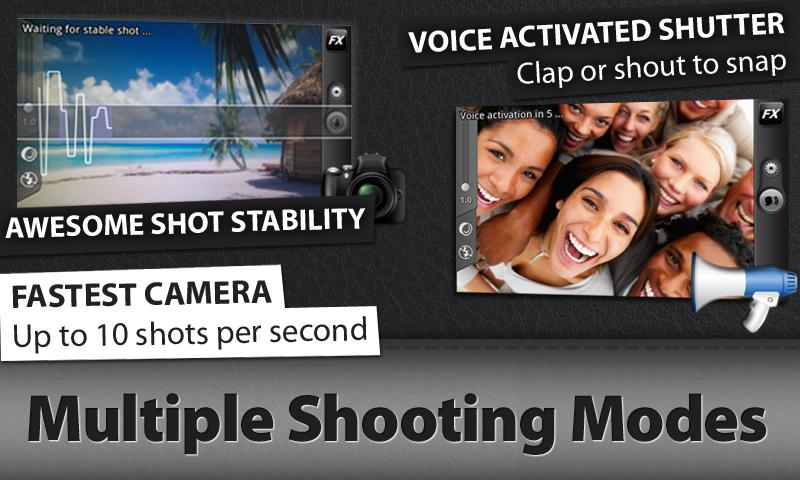 Camera ZOOM FX Picture Frames- screenshot
