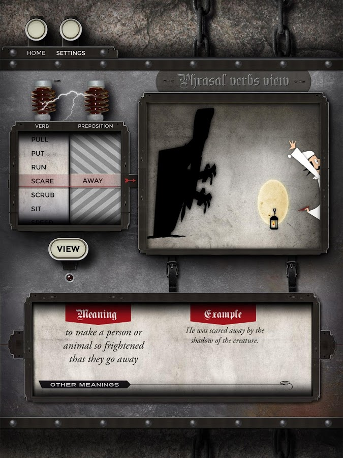 Phrasalstein Tablet - screenshot