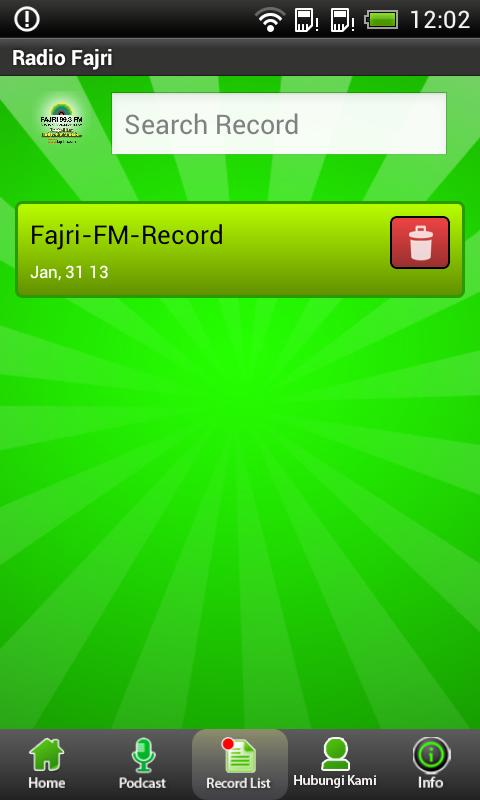 Fajri FM Radio Streaming- screenshot