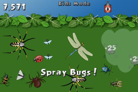 Bye Bugs Lite- screenshot