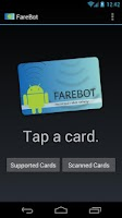 Screenshot of FareBot