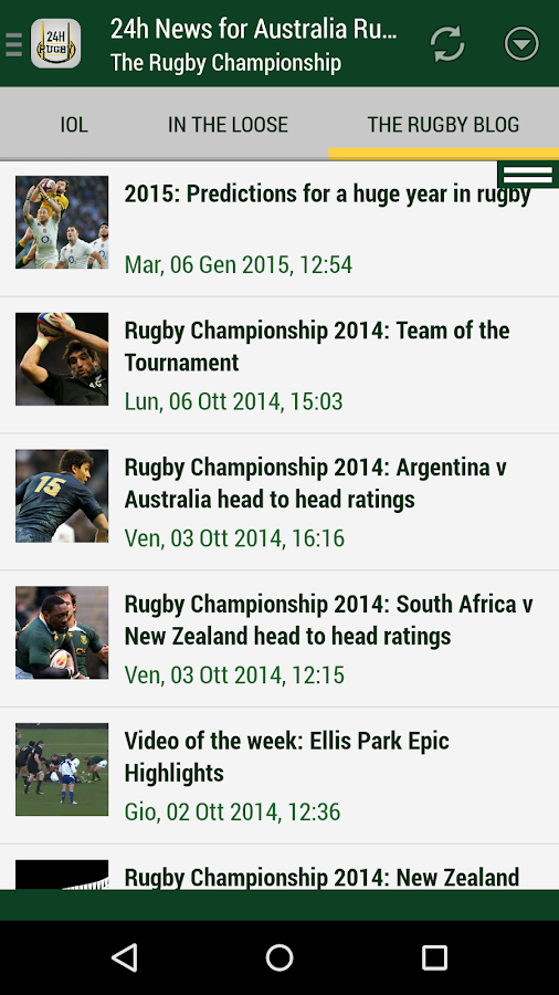 Australia Rugby 24h- screenshot