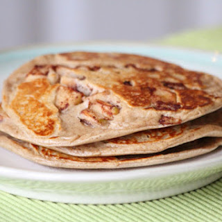 Gingered Granny Smith Protein Pancakes.