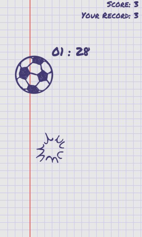 Juggle the Doodle- screenshot